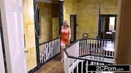 عروسة امريكية تمص زبر عريسها الكبير بورن سكس أجنبي-بورن سكس عربي
